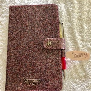 NWT Victoria's Secret notebook/journal and pen